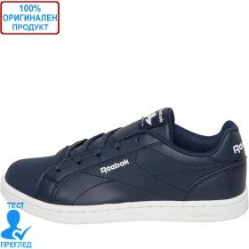 Reebok Royal Complete - спортни обувки - бяло- тъмно синьо, Dreshnik.com