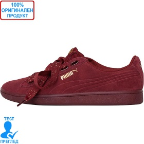 Puma Vikky Ribbon - спортни обувки - бургунди - златисто, Dreshnik.com