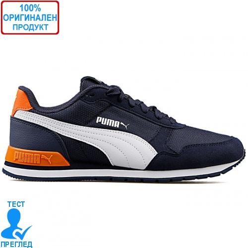 Puma St Runner V2 Mesh 36713513 - спортни обувки - синьо - оранжево
