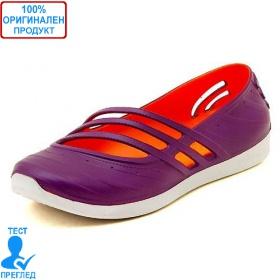 451400e163c Adidas QT Comfort - дамски летни обувки - лилаво- оранжево