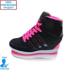 28524dee8b8 Adidas Weneo Wedge - дамски обувки със скрита платформа - черно - розово
