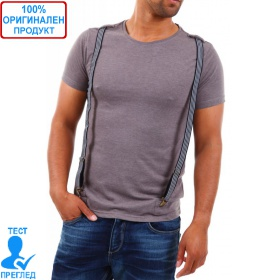 98-86 Sublevel Einstein - мъжка тениска с тиранти