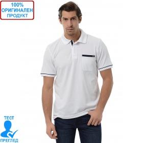 Adidas - мъжка тениска - бяло