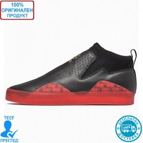 Adidas 3ST.002 - спортни обувки - черно - червено