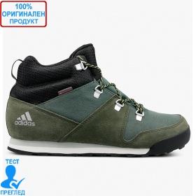 Adidas CW Snowpitch - зимни обувки - тъмно зелено