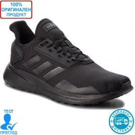 Adidas Duramo 9 - спортни обувки - черно - черно