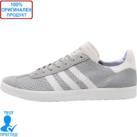 Adidas Gazelle Primeknit - спортни обувки - сиво