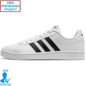 Adidas Grand Court - спортни обувки - бяло - черно