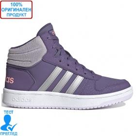 Adidas Hoops Mid 2.0 - кецове - лилаво