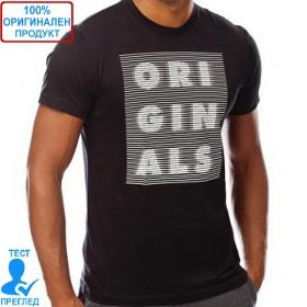 Adidas Originals - мъжка тениска - черно