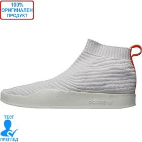 Adidas Originals Adilette Primeknit Sock - спортни обувки - бяло