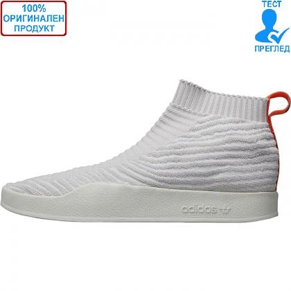 Adidas Originals Adilette Primeknit Sock - спортни обувки - бяло, Dreshnik.com