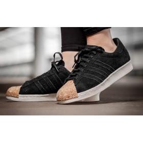 b778c059d76 Adidas Originals Superstar 80s - спорти обувки - черно - корк
