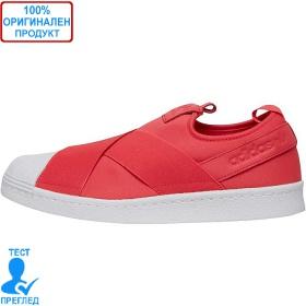 Adidas Originals Superstar Slip On - спортни обувки - червено