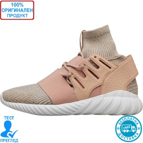 Adidas Originals Tubular Doom Primeknit - спортни обувки - екрю