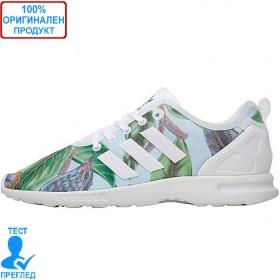Adidas Originals ZX Flux ADV - спортни обувки - бяло- пъстро