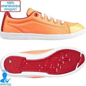 Adidas Plimeta - дамски кецове - оранжево