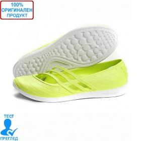 5e4d33deef2 Adidas QT Comfort - дамски летни обувки - лайм