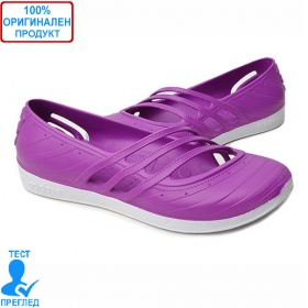 Adidas QT Comfort - дамски летни обувки - лилаво