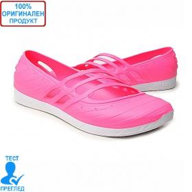 0116e5d8155 Adidas QT Comfort - дамски летни обувки - розово