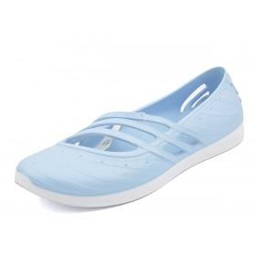 de0d75493f8 Adidas QT Comfort - дамски летни обувки - светло синьо
