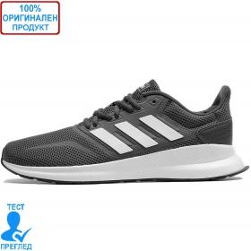 Adidas Runfalcon - спортни обувки - сиво - бяло
