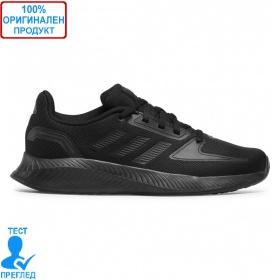 Adidas Runfalcon 2.0 K Black - спортни обувки - черно
