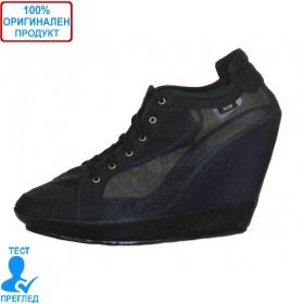 Adidas SLVR Clima Wedge - дамски обувки на платформа - черно
