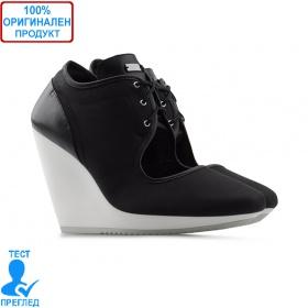 Adidas SLVR Mary Jane - дамски обувки на платформа - черно