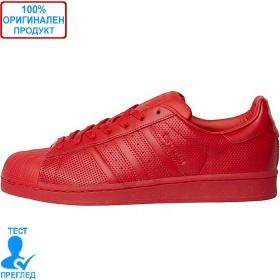 Adidas Superstar Adicolor - спортни обувки - червено