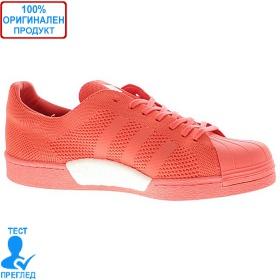 Adidas Superstar Primeknit - маратонки - коралово