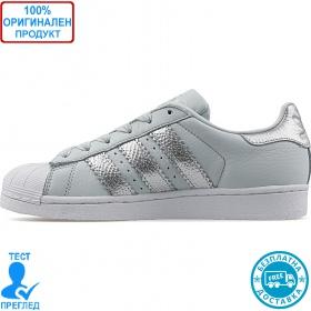 Adidas Superstar W - спортни обувки - синьо