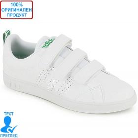 Adidas VS Advatage CL CMF - спортни обувки - бяло - зелено