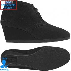 Adidas Weneo Casual - дамски обувки на платформа - черно