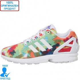 Adidas ZX Flux - спортни обувки - бяло- пъстро, Dreshnik.com