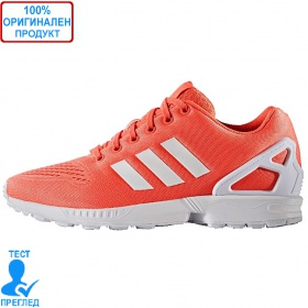Adidas ZX Flux EM - оранжево - бяло