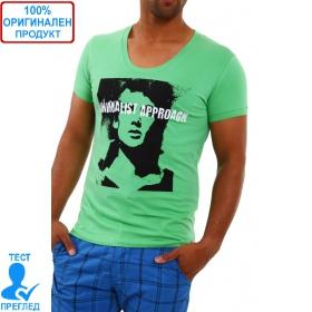 Bray Steve Alan by Einstein - мъжка тениска - зелено черно