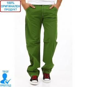 BSA by Einstein - мъжки панталон  - зелено