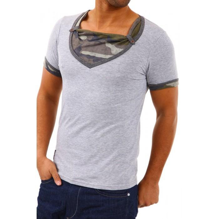 dcb1e5aabe9 Carisma Einstein - мъжка тениска- сиво, ДРЕХИ (Dreshnik.com)