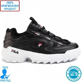 Fila D Formation - спортни обувки - черно- бяло - червено