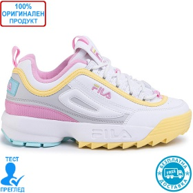 Fila Disruptor CB Low - спортни обувки - бяло - жълто