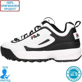 Fila Disruptor CB Low - спортни обувки - черно - бяло