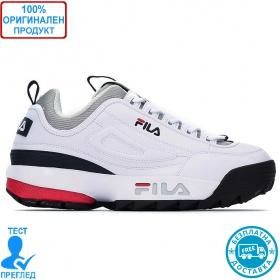 Fila Disruptor CB low Men - спортни обувки - бяло - черно - червено