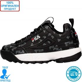 Fila Disruptor Logo low - спортни обувки - черно - сиво