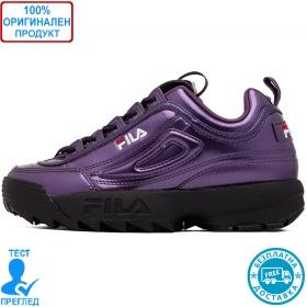 Fila Disruptor low - спортни обувки - тъмно лилаво