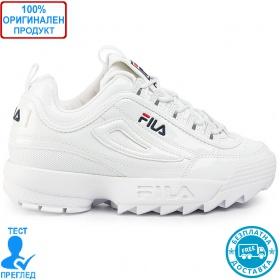 Fila Disruptor Low Wmn - спортни обувки - бял лак