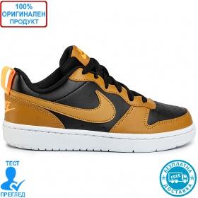 Nike Court Borough Low - спортни обувки - кафяво - черно
