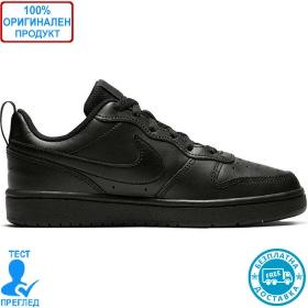 Nike Court Borough Low - спортни обувки - черно - черно
