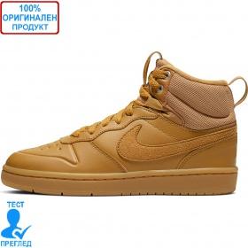 Nike Court Borough Mid - обувки - кафяво - кафяво
