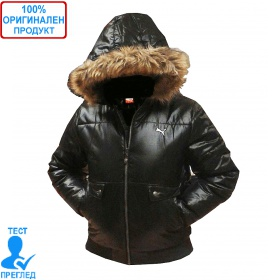 Puma - детско/дамско яке с качулка - черно
